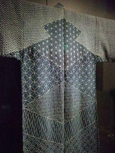 Lumberman's Sashiko Japan Edo Period 1780 indigo dyed hemp and cotton