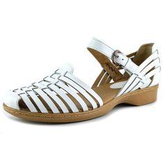 Softspots Hanna Women US 8 White Fisherman Sandal #Softspots #SportSandals