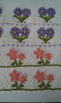 This Pin was discovered by Gul Needle Lace, Needle And Thread, B 13, Embroidery Designs, Elsa, Diy And Crafts, Sewing, Lace Making, Fabric Handbags