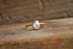grayskymorning:  Sarah Perlis Jewelry + Rough Diamond Ring