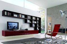 i love these shelves for the living room!
