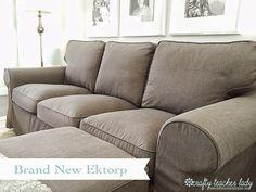 Crafty Teacher Lady: Review of the IKEA Ektorp Sofa Series