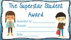 FREE Certificates - General Classroom Use Awards   Six certificates that students will love! These certificates are perfect to use weekly for your star of the week, or just for general purpose.   The award titles are:   The Superstar Student Award Certificate of Achievement Caught Being Good Award Certificate of Excellence Award Outstanding Citizenship Award  Spelling Bee Participant Award  This is a taster of my quality of work, I highly welcome and encourage you to download it to see if…