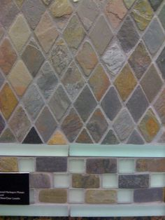 Kitchen back splash ... colors are perfect for my kitchen w/ gloss finish