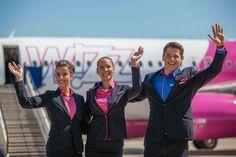 Wizz Air cabin crew uniform