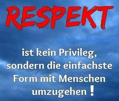 Respekt                                                                                                                                                                                 Mehr