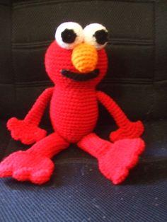 Elmo free crochet pattern