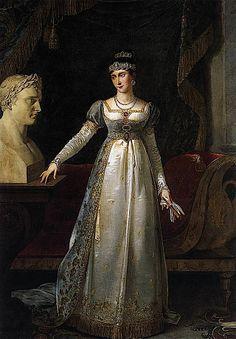 1806 Marie Pauline Bonaparte by Robert Lefèvre (Versailles)