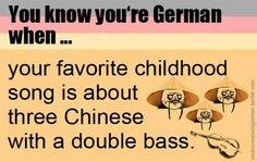 Drei Chinesen mit 'nem Kontrabass ...