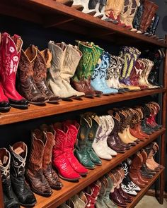 Vintage cowboy boots from Hyer, Acme, Tony Lama, Justin, Nocona, Stewart Romero and various custom boot makers. Most are from the 50's, 60's and 70's. #handmade #madeinusa #vintagecowboyboots #vintage #cowboyboots #classic #western #bootstar #losangeles