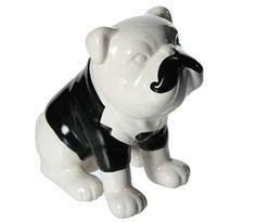 Piggy Bank, Trends, Winter, Bulldog Breeds, Chains, Seasons Of The Year, Figurine, Birthday, Weihnachten