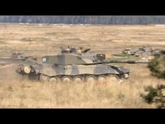 UK Armoured Battle Group Takes Part in Poland Exercise Dragon 15 - YouTube