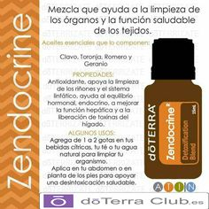 Zendocrine y Desintoxicate. Doterra Detox, My Doterra, Doterra Essential Oils, Essential Oil Blends, Doterra Cedarwood, Zendocrine Doterra, Health And Beauty Tips, Health Tips, Esential Oils