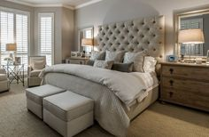Emily Sheehan Hewett says you can never go wrong with a calm and soothing color palette in a bedroom.Nate Rehlander