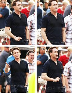 "Robert Downey Jr. on location for ""The Judge,"" a Team Downey production, in Shelburne Falls, Mass., June 6, 2013"
