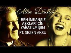 Erol Evgin & Sezen Aksu - Ben İmkansız Aşklar İçin Yaratılmışım - YouTube Can't Stop Laughing, My Music, Comedy, Singer, Youtube, My Love, Funny, Movie Posters, Movies