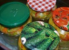 Sałatka na zimę z kapustą i ogórkami - wielowarzywna - przepis ze Smaker.pl Winter Salad, Cabbage Salad, Fresh Rolls, Vegetable Recipes, Pickles, Watermelon, Fruit, Vegetables, Cooking