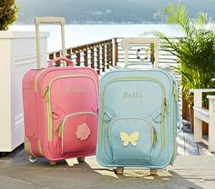 I love the Small Fairfax Girls' Luggage on potterybarnkids.com