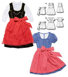 Kid's Trachten Outfits: 6 New Patterns
