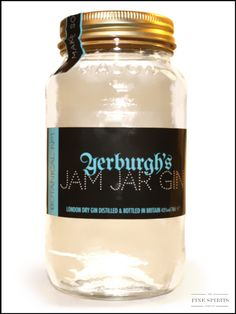 Tasted and still in my collection: Jam Jar Gin from UK