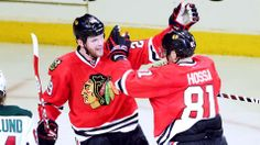 Bickell powers Blackhawks past Wild 4-1 in Game 2   FOX Sports on MSN