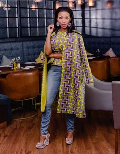 African Outfits, African Attire, African Print Fashion, African Prints, African Traditional Wear, Sewing Lessons, Godly Woman, Caftans, African Style