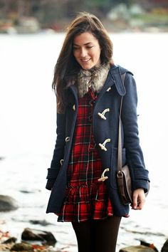 #plaid #toggles #preppy Have this dress