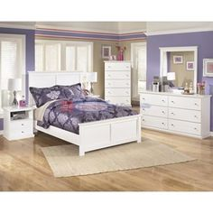 Signature Design Bostwick Shoals B139 5 pc Full Bedroom Set