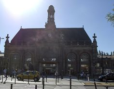 Gare de Valenciennes by Benoit POLASZEK, via Flickr. The station today after reconstruction.