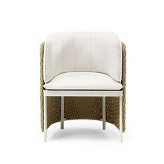 Ethimo Esedra Gartenstuhl Villa, Sofa, Chair, Outdoor, Furniture, Home Decor, Outdoors, Settee, Decoration Home