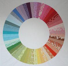 colourwheel quilt