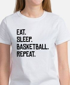 7542973f6ee8 Eat Sleep Basketball Repeat T-Shirt for Lacrosse