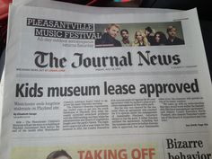 Today's headline supports the Children's Museum...I hope you will too. Please make a donation at www.discoverwcm.org