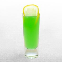 Put all ingredients in a shaker with ice. Shake and strain into a shot glass. Drinks Alcohol Recipes, Drink Recipes, Dessert Recipes, Cocktail Drinks, Cocktails, Coconut Rum Drinks, Irish Luck, Rum Cream, Hey Bartender