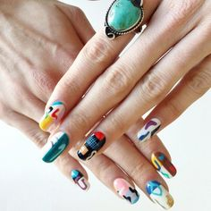 Get beauty inspo for your next salon visit from these next-level manicures adorned with super creative nail art.