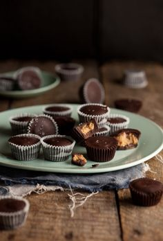 homemade peanut butter cups.