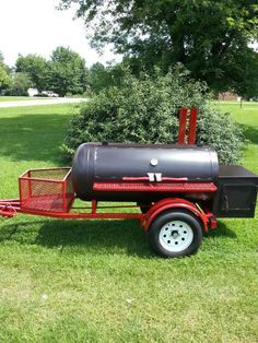 TS-250 Trailer #smoker #bbq
