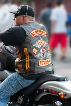 Bandidos | Biker from the Bandidos motorcycle club - a membe… | Flickr