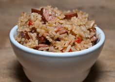 Sausage Jambalaya #recipes #Louisiana