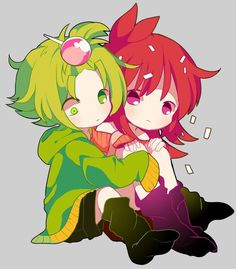 Happy Tree Friends (HTF)- Nutty x Flaky #Anime