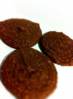 Chocolate Fudge Cookies (gluten free, flourless and high protein)