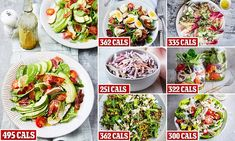 DR CLARE BAILEY with her Fast 800 toolkit to help you slim down with these super-satisfying salads Diet Recipes, Vegetarian Recipes, Healthy Recipes, Savoury Recipes, Diet Meals, Quick Recipes, Potato Recipes, Salad Recipes, Recipies