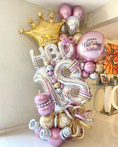Balloon Shop, Balloon Display, Balloon Gift, Balloon Garland, Birthday Balloon Decorations, Birthday Balloons, Balloon Bouquet Delivery, Balloon Pictures, Balloons And More
