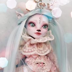"""400 Likes, 5 Comments - Retro Dolls US (@retrodollsusfeature) on Instagram: """"Made for the Magic Swap Custom Monster High by @moonlight_jewel_dolls featuring Retro Dolls US Sea…"""""""