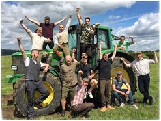 Tractor racing of course! John Deere Tractors, The Shepherd, Party Activities, North Yorkshire, Outdoor Fun, Hilarious, Racing, Adventure, Birthday