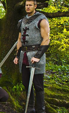 Tom Hopper (Percival) Because you always need a knight with sleeveless chainmail