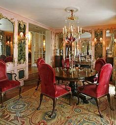 Joan Rivers' Penthouse Dining Room