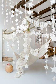 Hammock and stars