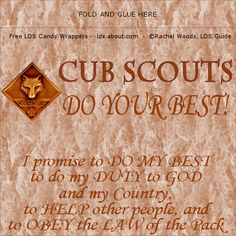 Cub Scouts – Cub Buck Free Printable | Over The Big Moon