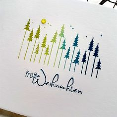 Weihnachtskarten Flower stamp: 2017 # flower stamp, Turn Viewing into a Teachable Moment by Watching Boxed Christmas Cards, Homemade Christmas Cards, Xmas Cards, Diy Cards, Homemade Cards, Watercolor Christmas Cards, Christmas Drawing, Watercolor Cards, Christmas Art